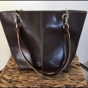 Wilson's Leather Vintage Bag Purse Boho EUC